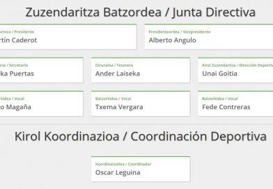 Kirol Zuzendaritza berria / Nueva Dirección Deportiva